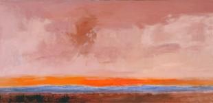 Takayama paintings anchor group exhibition at Santa Fe gallery